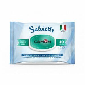 Salviette Igieniche al Muschio Bianco Camon