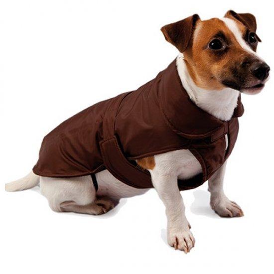 Cappotto Foderato in Pile Fashion dog
