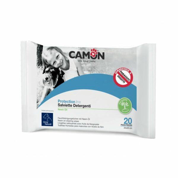 Camon Salviette Igieniche Antiparassitarie