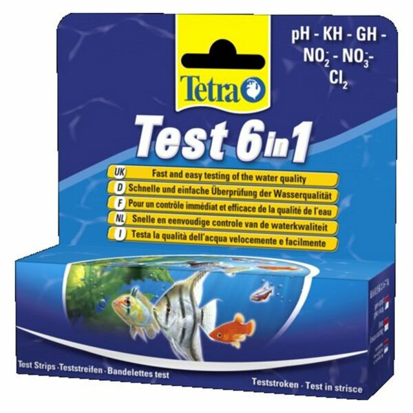 Tetratest 6 in 1 Dolce Test in Strisce