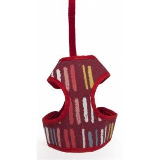 Pettorina Multicolor con Guinzaglio Camon