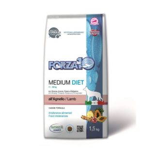 Medium Diet Agnello FORZA10 1,5 kg