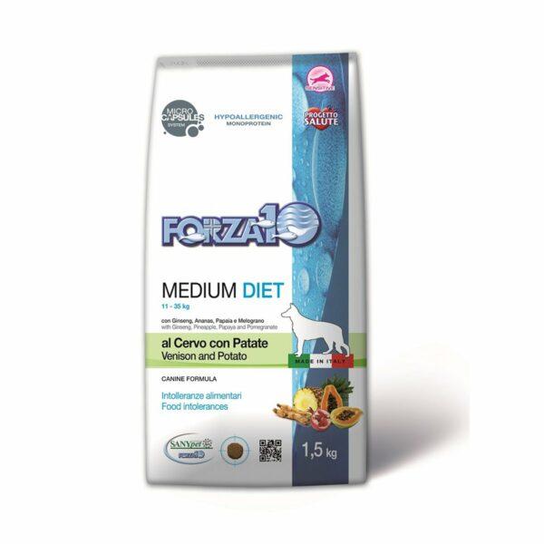 Medium Diet al Cervo con Patate FORZA10 1,5 kg