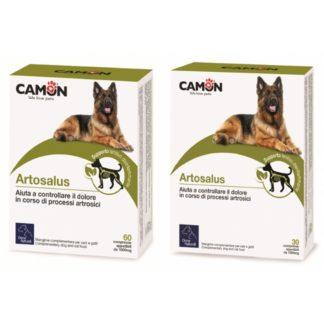 Camon Artosalus Compresse per Cani e Gatti Orme Naturali
