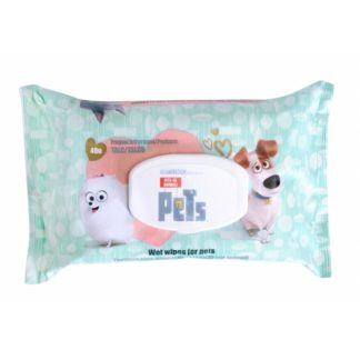 Salviette Detergenti al Talco Pets