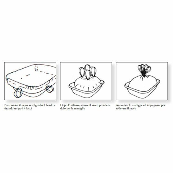 Foderina per Lettiera Igienica 10 Sacchetti Velma istruzioni