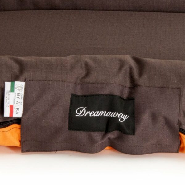 Fabotex Dreamaway Materasso Boston Orange Brown Brand