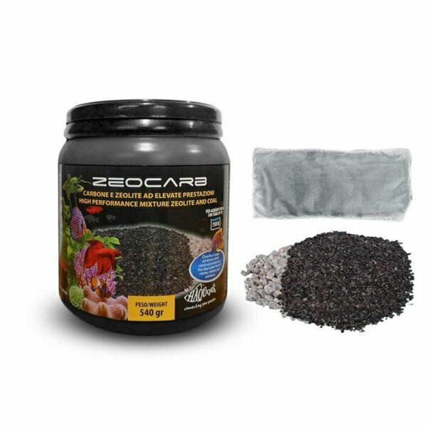 Haquoss Zeocarb Carbone Attivo e Zeolite