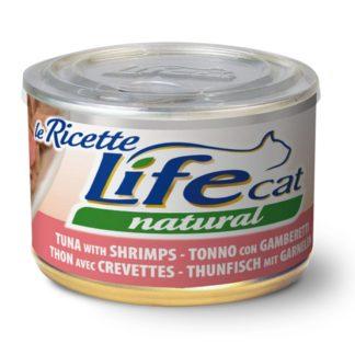 LifeCat Naturale Tonno con Gamberetti