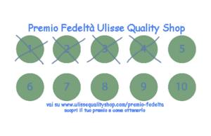 Premio Fedeltà di Ulisse Quality Shop
