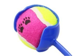 Ultra grip ball launcher pallina