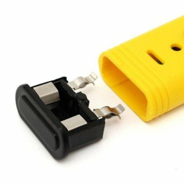 pHmetro digitale giallo batterie
