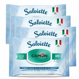 Salviette Igieniche al Muschio Bianco Multipack