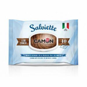 Salviette Detergenti Legni Bianchi Camon