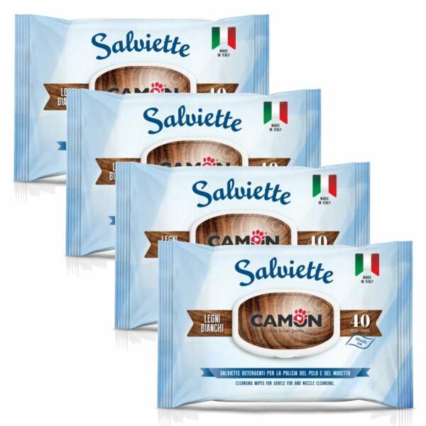 Salviette Detergenti Legni Bianchi Multipack