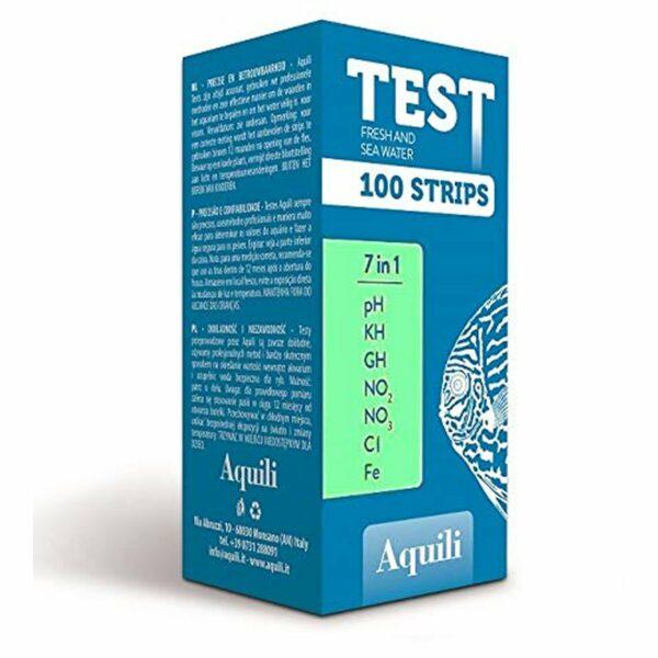 Aquili Test 7 in 1 per Acquario Acqua Dolce