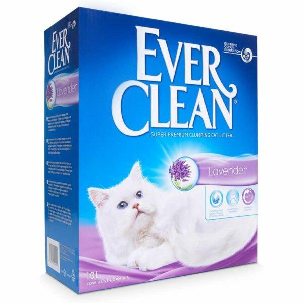 Ever Clean Lavander 10 Litri Sabbietta per Gatti